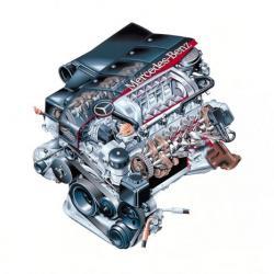 Газов инжекцион за 8 цилиндрови автомобили